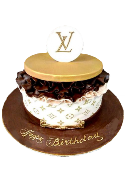 Louse Vitton Fashion Cake